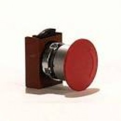 Серия P9, кнопка аварийная, красная (кат. № P9MER4RN)