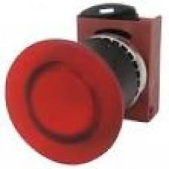 Серія P9, кнопка аварийна, червона (кат. № P9XER4RN)