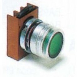 Серия P9, кнопка с подстветкой, белая (кат. № P9MPLBGD)