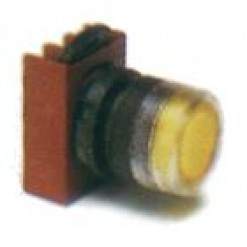 Серія P9, кнопка c підсвічуванням, жовта (кат. № P9XPLGGD)